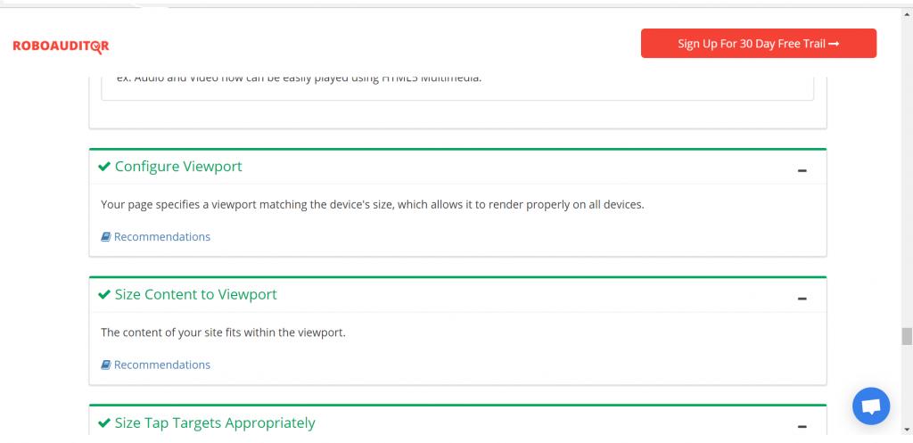 growthrobotics seo audit tool sample report