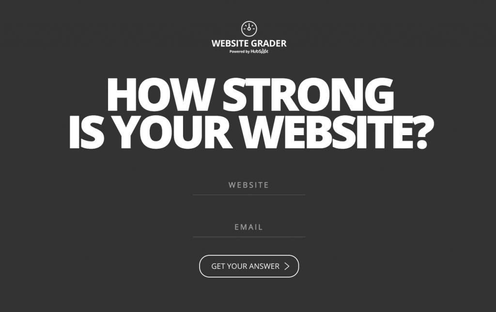 website grader online