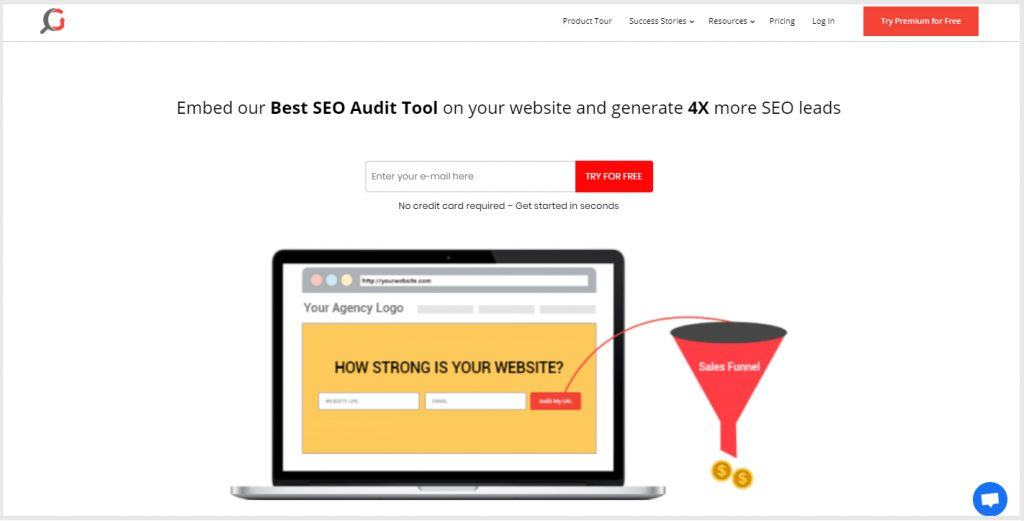 white label SEO audit tool