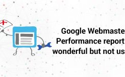 Google Webmaster Performance report is wonderful but not useful